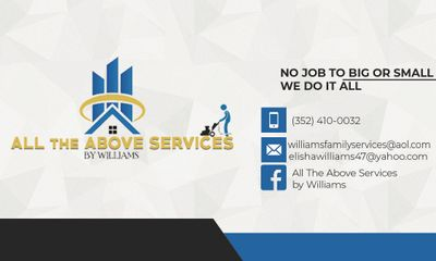 Avatar for All The Above Services By Williams