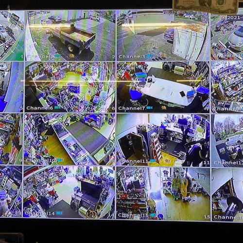 16 Camera install!