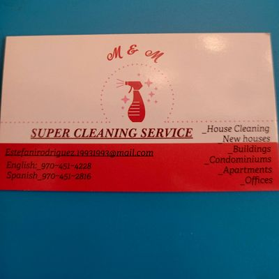 Avatar for M&M super cleaning service