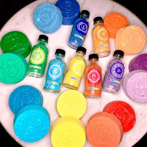 Chakra healing bath set Guaranteed to balance each chakra