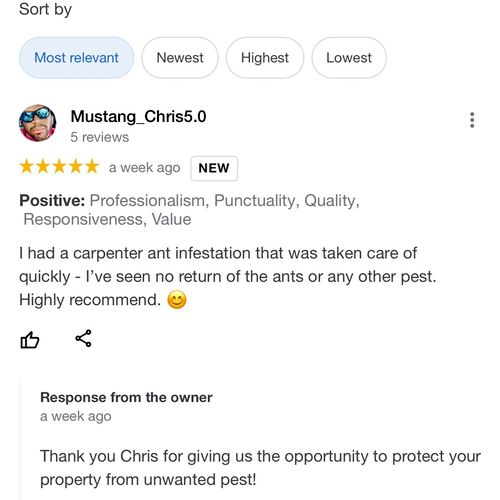 Another satisfied customer! 😀