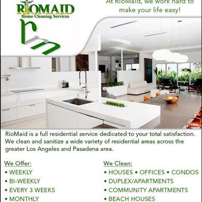 Avatar for RioMaid Home & Commercial Cleaning Services