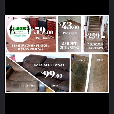 Avatar for SAMEDAY!!Allergenic Care Carpet n upholstery .😺