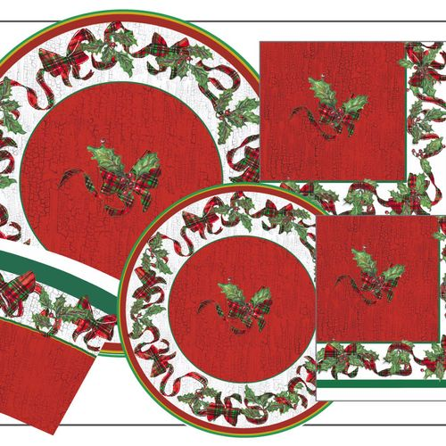 Paper Tableware Holiday Collections