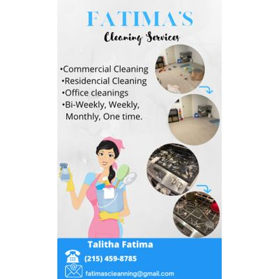 Avatar for Fatima's cleaning services