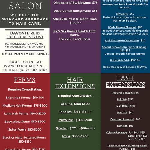 Salon Menu pg2