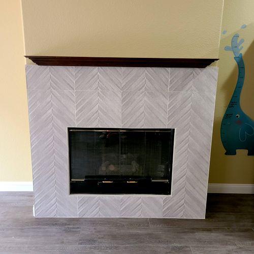 fireplace face-lift