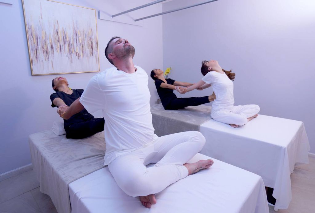 Spiritual healing massage