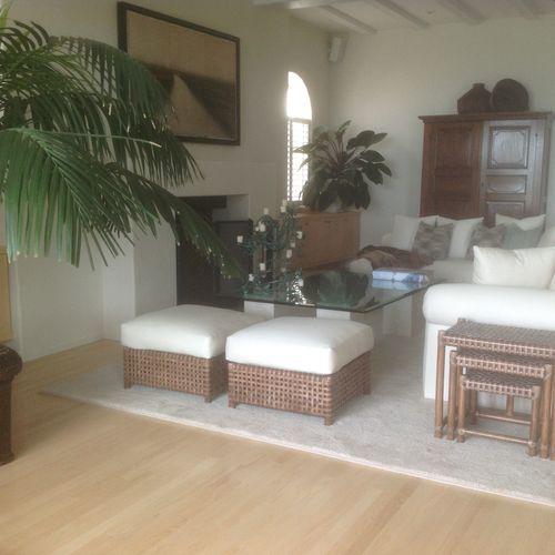 Santa Monica Beach Home/Living Room