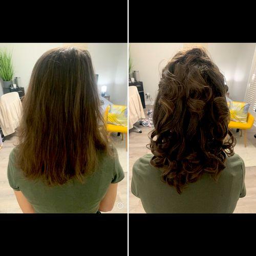 Hair Service on | natural hair  -Wedding