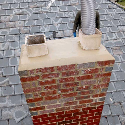 After Chimney Rebuild
