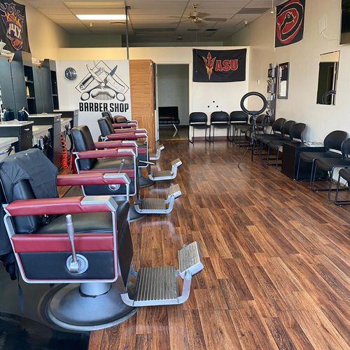 Barbershop cleaning