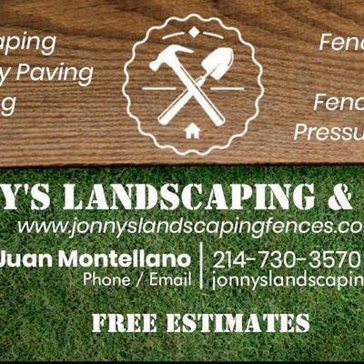 Avatar for Jonny's Landscaping & Fences