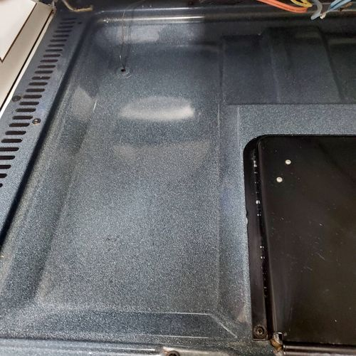 clean stove after Mr & Mrs GG Solutions