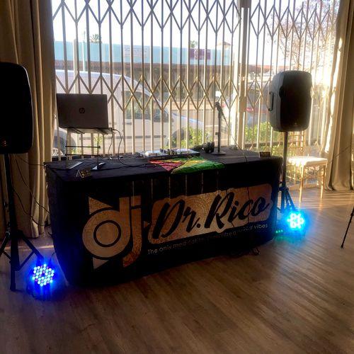 DJ Gig Set Up