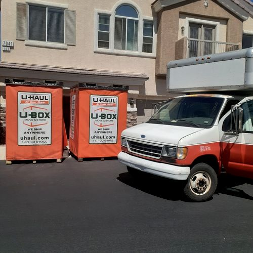 We load PODS and U-BOX