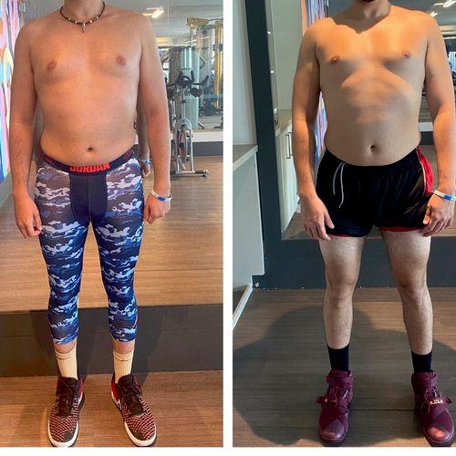 1 month progress