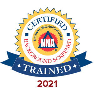 Certified Notary Signing Agent and Background Screened