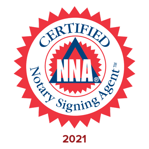 Certified by National Notary Association