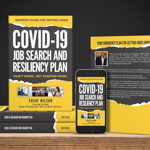 NEW BOOK - COVID-19 JOB SEARCH AND RESILIENCY PLAN