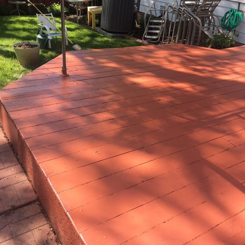 Deck Painting (After)