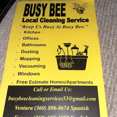 Avatar for Busy Bee Cleaning Services