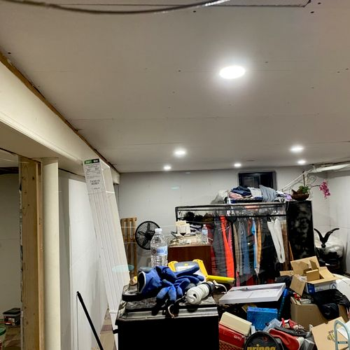 9   4 inch recessed lights for basement remodel