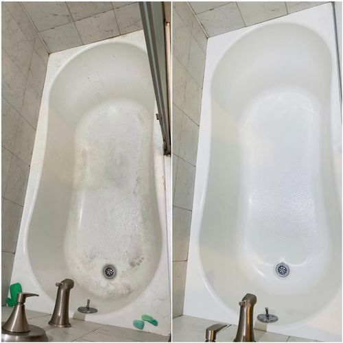 Before & after 🧼