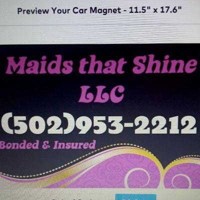 Avatar for Maids that Shine LLC