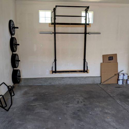 PRX Squat Rack Install
