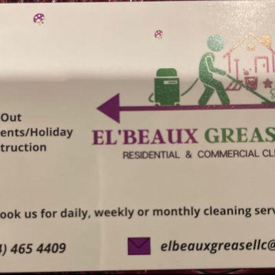 Avatar for El 'Beaux Grease LLC