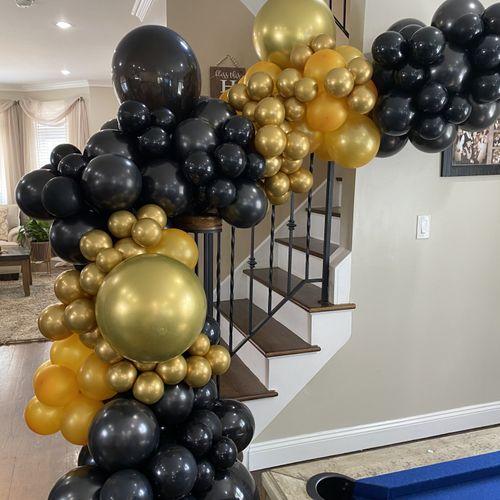 Stairway Balloon Garland