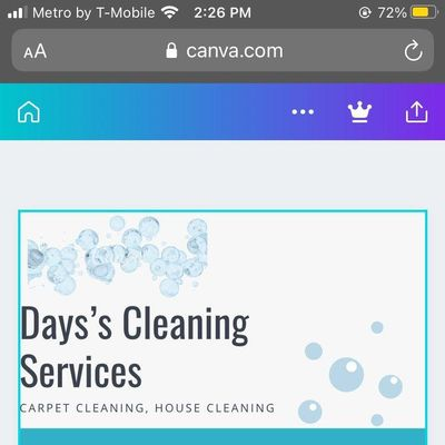 Avatar for Days carpet cleaning