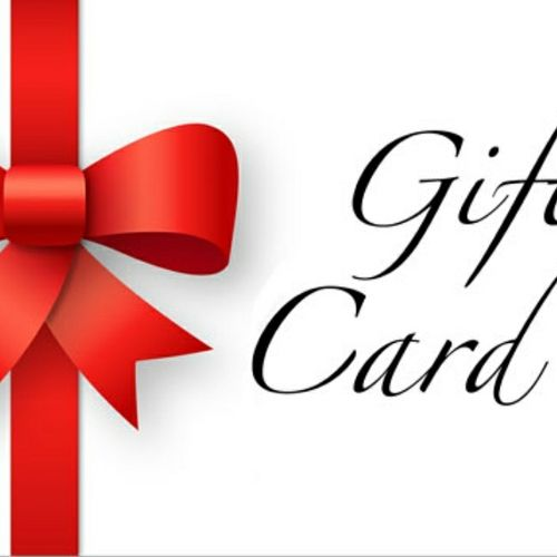 Gift Certificates Available Online 24/7