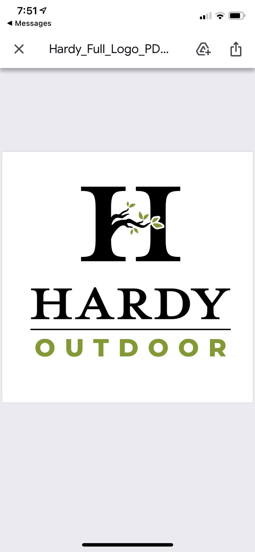 Hardy Landscape LLC. Landscape Design/Installation