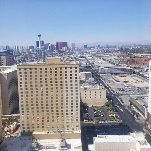 Beautiful view at the Circa in fabulous Las Vegas!