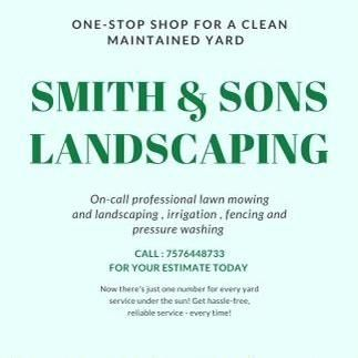 Avatar for Smith & Son's Landscaping