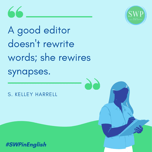 Good editors maintain the author's voice