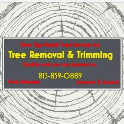 Avatar for One Top Notch Tree Service Inc.