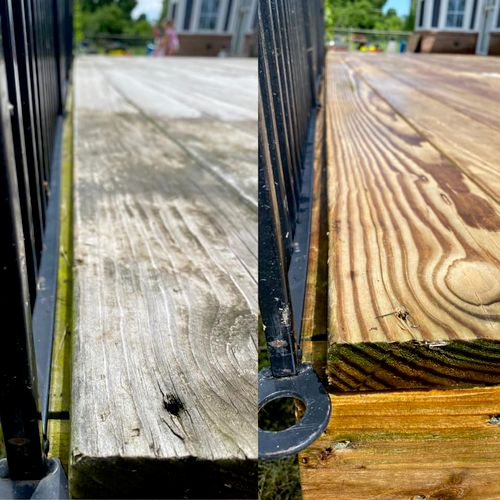 15 year old deck, fully restored without changing a single coard 2/5