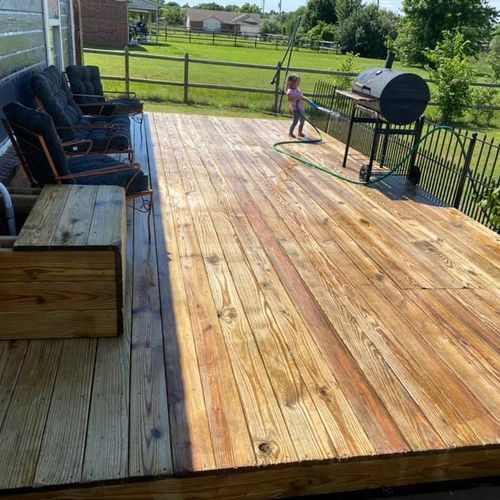 15 year old deck, fully restored without changing a single coard 5/5