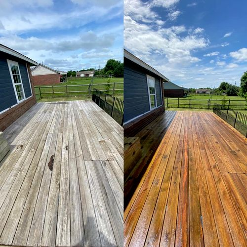 15 year old deck, fully restored without changing a single coard 3/5