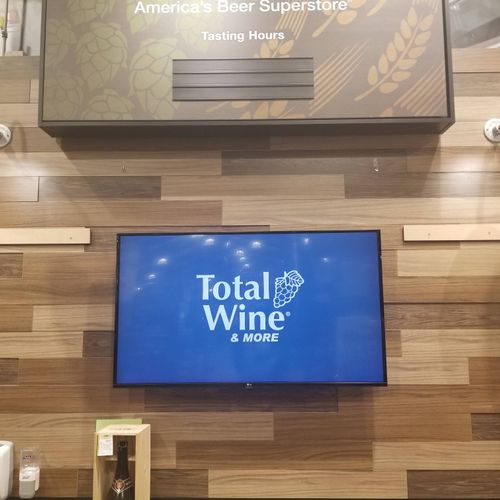 Digital Display install with integrated audio, Gainesville Va