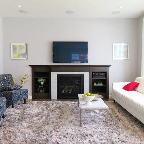 TV mount, Reston Va