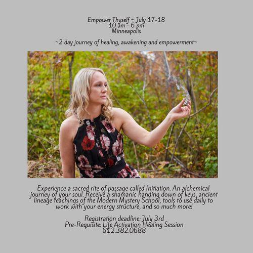 Empower Thyself: July 17-18