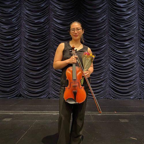 Recital for my Master's degree at DePaul Univ.