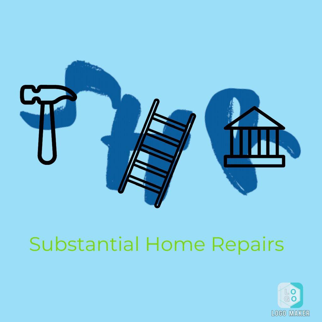 Substantial home repairs