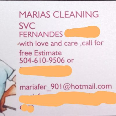 Avatar for Marias cleaning service