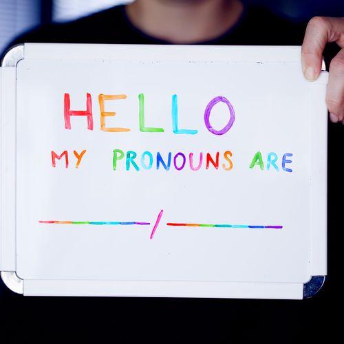 gender affirming language