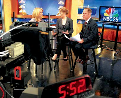 I anchored the morning show at WEYI-NBC25 in the Flint market for ten years.